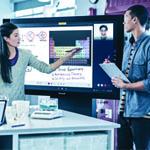 Dynamiser l'usage des webconférences avec Surface Hub